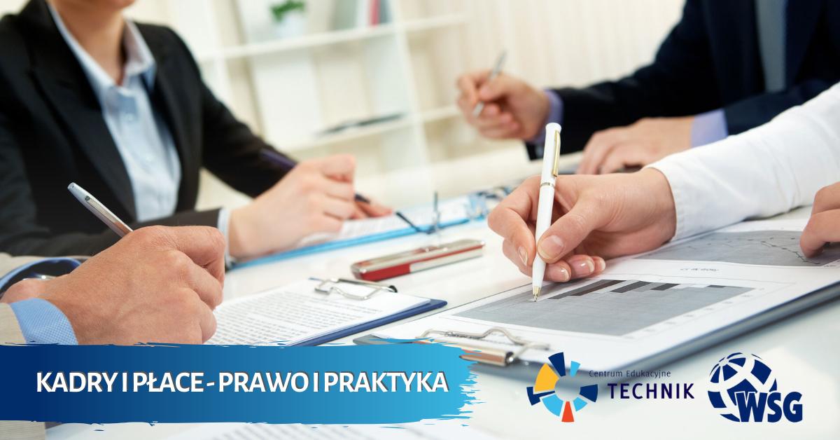Studia podyplomowe Kadry i Płace - Prawo i Praktyka - Słupsk